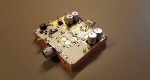 GaN RF power amplifier @ 915 MHz